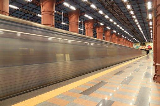 Portugal, Lisbon, Metro, Underground, Subway, Station