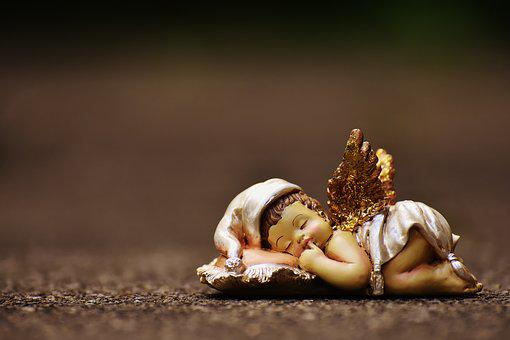 Schutzengelchen, Angel, Fig, Cute, Ceramic, Art