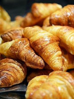 Croissant, Bread, Food, Breakfast, France, Paris