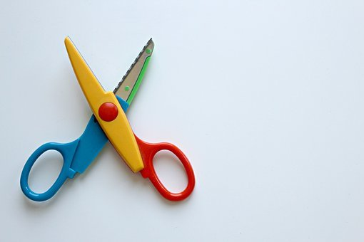Scissors, Colorful Scissors, Color, Tinker, Colorful