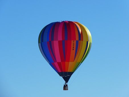 Hot Air Balloon, Balloon, Colorful, Wind