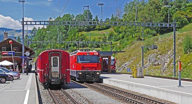 Rhaetian Railways, Filisur, Crossing Station
