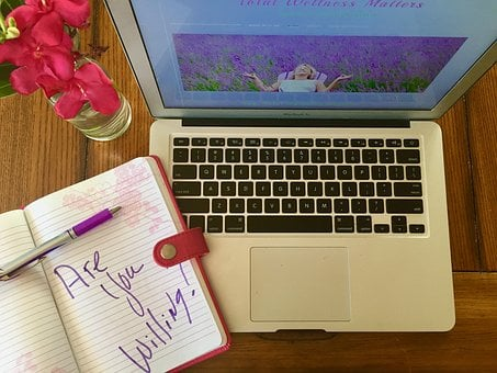 Blogging, Coaching, Trainer, Sharing, Notebook