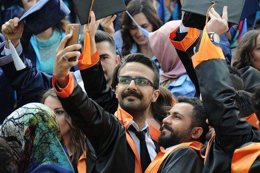 University, Education, Graduation, Students, People