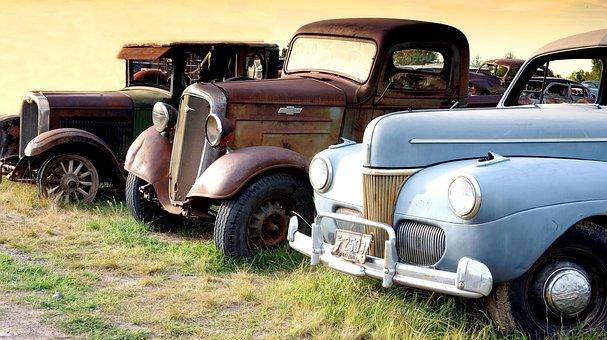Montana, Truck, Oltimer, Transport, Vehicle