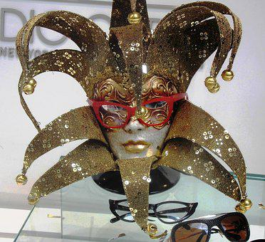 Mask, Deco, Carnival, Glasses, Sunglasses, Art, Face
