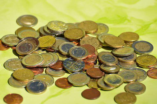 Coins, Currency, Euro, Cash And Cash Equivalents
