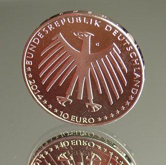 Euro, Euro Coin, Europe, Money, Geldwert, Large, Coin