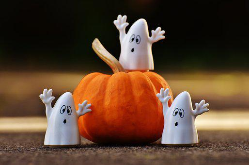 Halloween, Ghosts, Pumpkin, Happy Halloween, Ghost