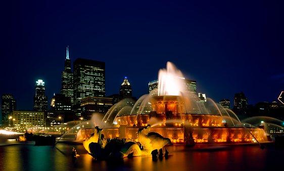 Chicago, Illinois, City, Urban, Cityscape