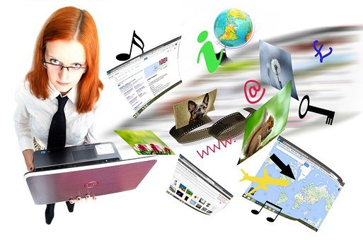 Internet, Laptop, Video, Network, Page, Email, Data