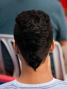 Man, Haircut, Hairstyle, V-cut, Guy, Hair, Looking