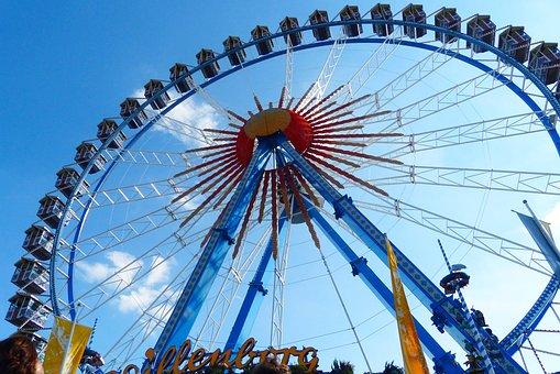 Ferris Wheel, Pointed Bummel, Oktoberfest