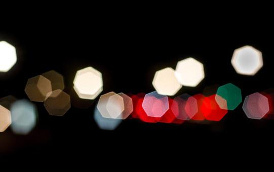 Tail Lights, Out Of Focus, Blur, Aperture, Iris, Tail