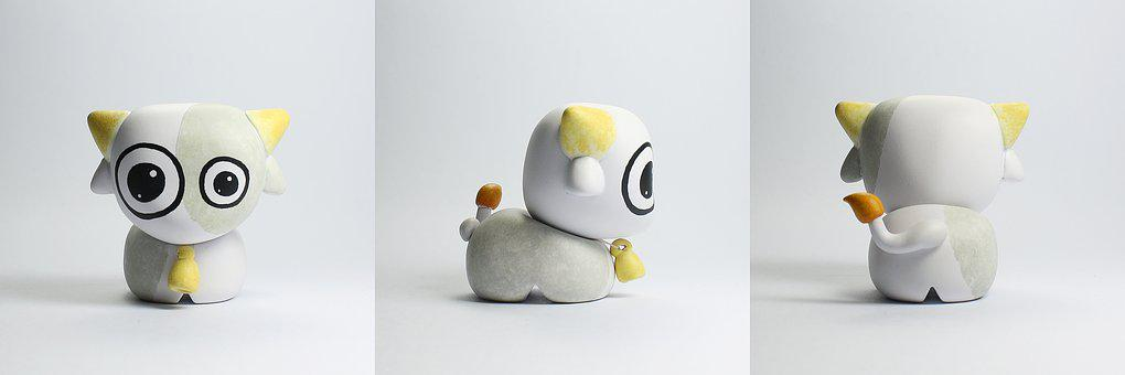Toy Design, Toy, Urban Toy, Designer Toy, Sculpting