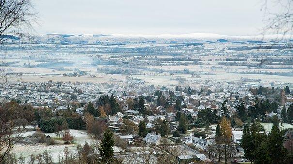 Town, Highlands, Photography, Land, Landscape, Nature