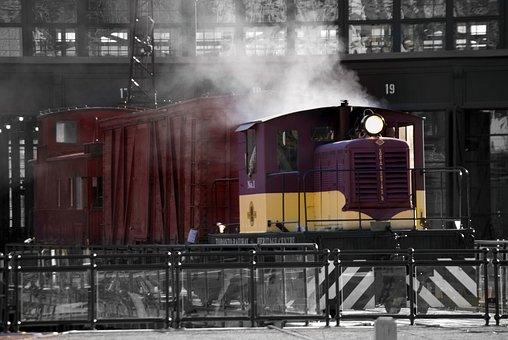 Train, Steam Engine, Railway, Locomotive, Engine