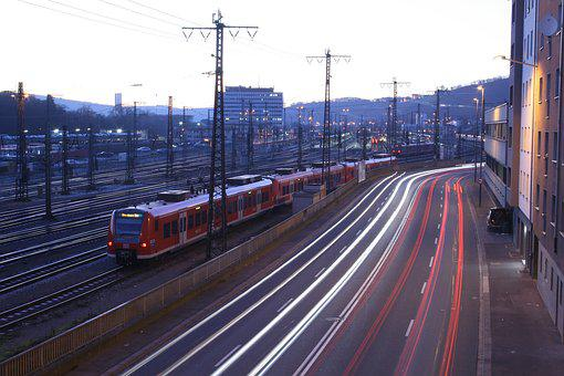 Train, Traffic, Railway, Transport, Locomotive