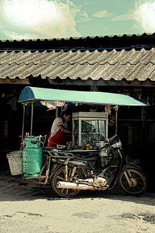 Thailand, Food Stall, Eat, Street Food, South East Asia