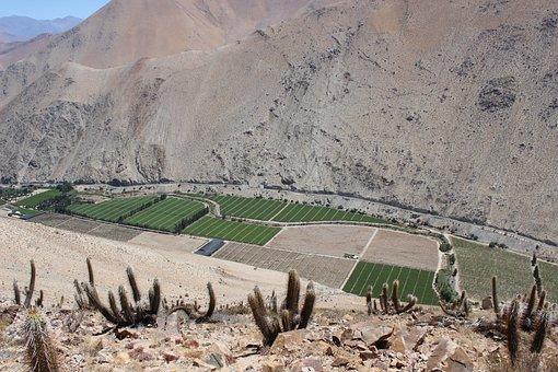 Mountain, Chile, Paihuano, Elqui