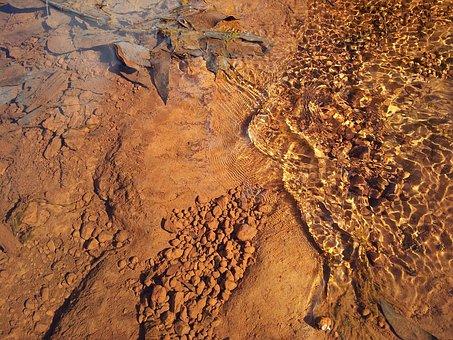 Water, Nature, Stone, Surface, Pattern, Bottom, Lake
