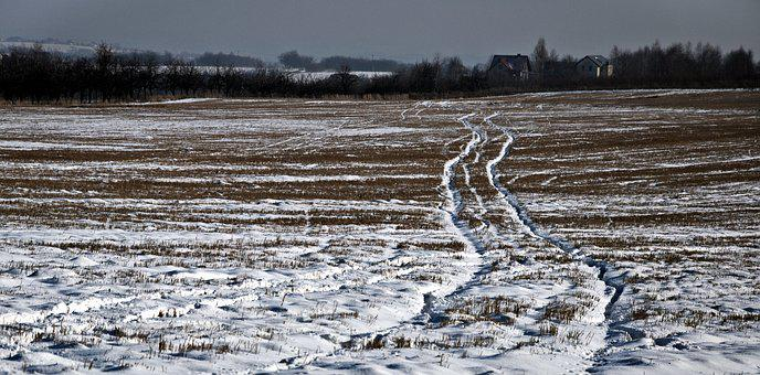 Way, Winter, Target, Traces, Field, The Silence, Space
