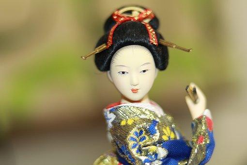 Geisha, Japanese, Lady, Woman, Japan, Traditional, Girl