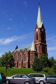 Finnish, Mikkeli, Cathedral, Church, Architecture