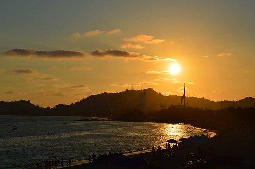 Acapulco, Mexico, Sunset