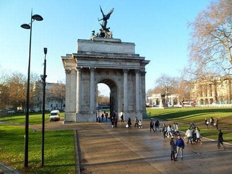 Park, Marble Arch, Arch, Structure, Travel, Famous