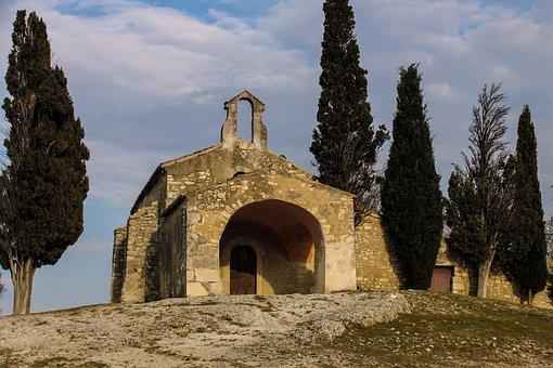 St Sixte, Eygalières, Chapel, Provence, France