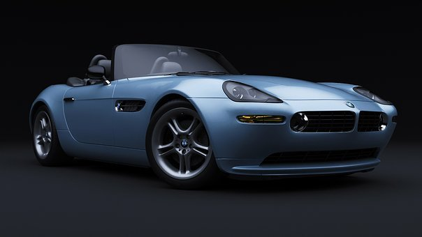 Bmw Z8, Car, 3d Render, Automobile, Vehicle