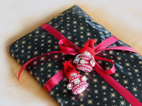 Package, Gift, Surprises, Wrapping, Under The Tree