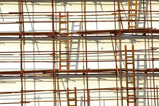 Scaffolding, Ladder, Shading