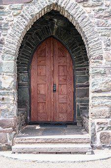 Door, Stone, Arch, Entrance, Architecture, Exterior