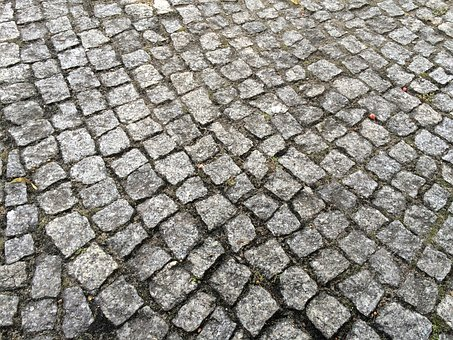 Pavement, High Road, Paving, He Walks, Street, Route