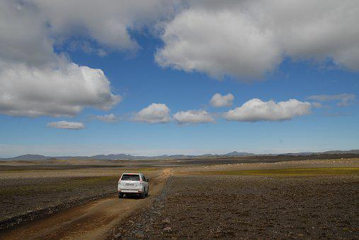 Iceland, Desert, Volcanism, Wide Open Spaces, Track