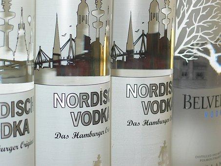 Clear, Alcohol, Shop, Alcoholic, Glass Bottles, Spirit