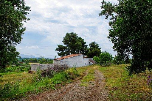 Cottage, Campaign, Calabria, Holy Sunday Talao, Autumn