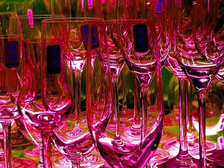 Glasses, Champagne Glasses, Glass, Champagne, Drink