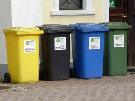 Containers, Garbage, By Participating In, Ecology