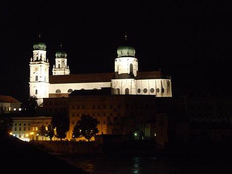 Passau, Dom, Church, Episcopal See, St Stephan, Baroque