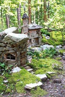 Fairy, Village, Miniature, Garvan Botanical Gardens