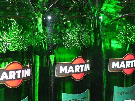 Martini, Mixer, Mixed Drink, Shop, Glass Bottles