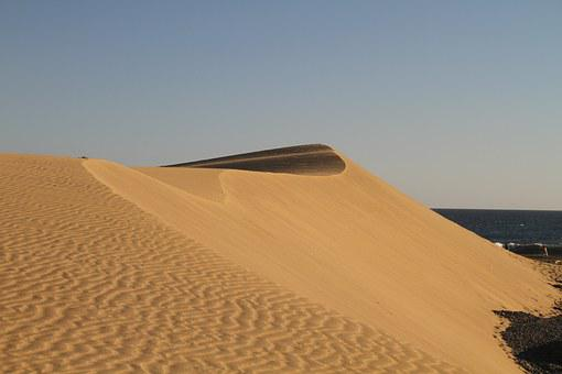Dunes, Gran Canaria, Canary Islands, Sand, Panorama