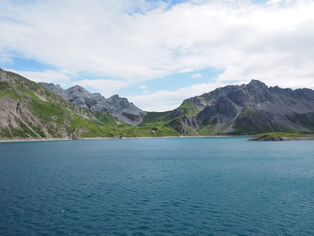 Luenersee, Lake, Alpine Lake, Mountain Lake, Water