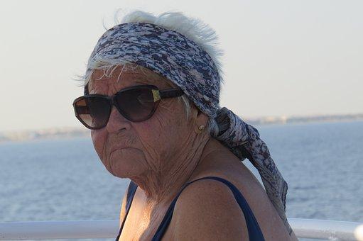 Mama, Old, Seniorin, Holiday, Life Experience, Fold