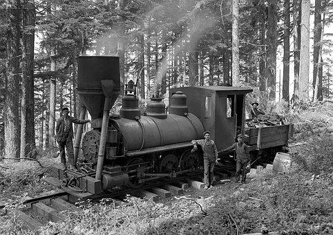 Steam Train, Locomotive, Retro, Old Times, 20th Century