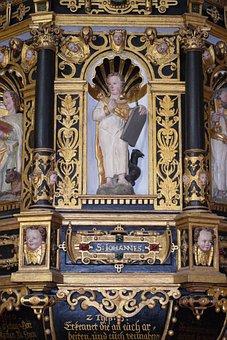 Pulpit, Church, Interior, Architecture