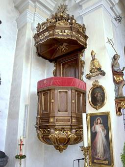 Artstetten Pöbring, Hl Jakob, Parish Church, Pulpit
